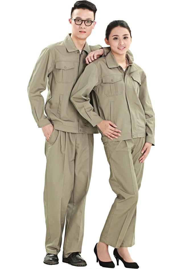 洪瑞 HR-810款帆布单层茄克工作服 劳保服 工装