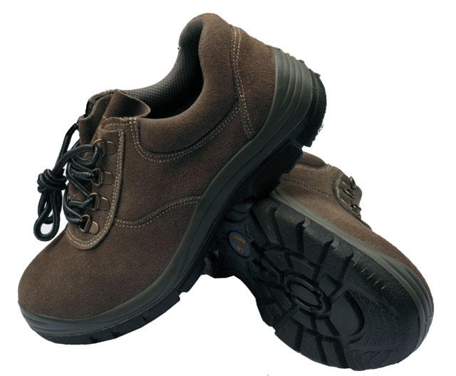 HR-1001款一级反绒牛皮 劳保鞋 安全鞋工作服 劳保服 工装