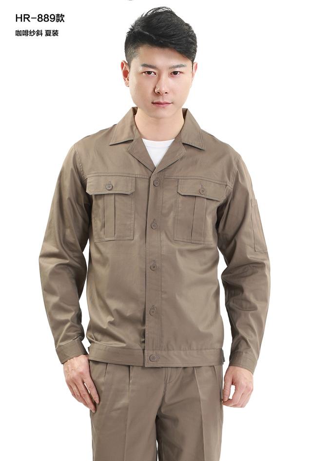 HR-889涤棉细斜纹短袖
