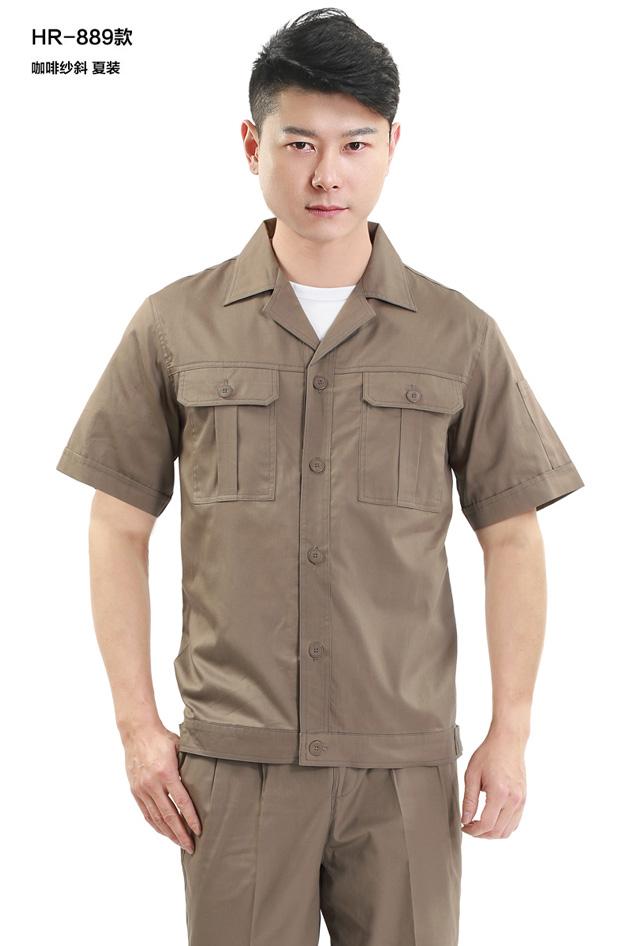 HR-889涤棉细斜纹长袖