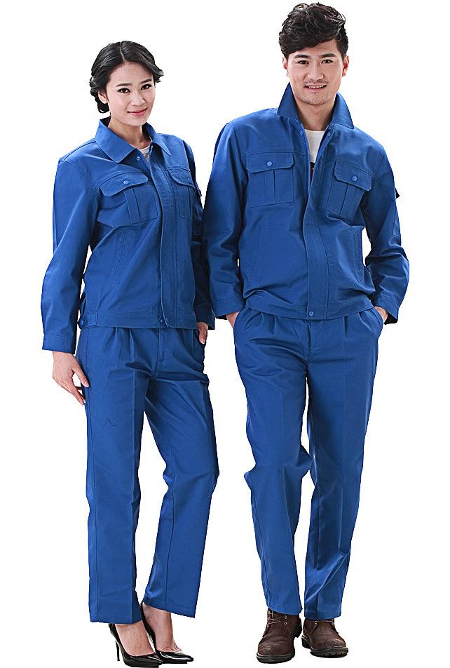 洪瑞 KG-316款精格服饰 帆布单层茄克工作服 劳保服 工装